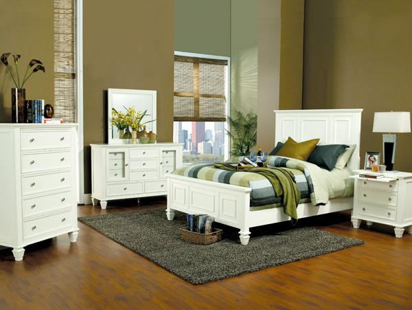 Sandy Beach White Bedroom Set On The Go Living
